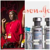 EFF Suspend The Use Of JJ COVID-19 Vaccine With immediate Effect Because Of This