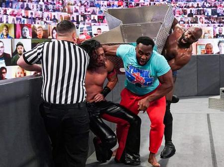 Nigerian Wrestler Injures WWE Intercontinental Champion With Ring Steel Steps