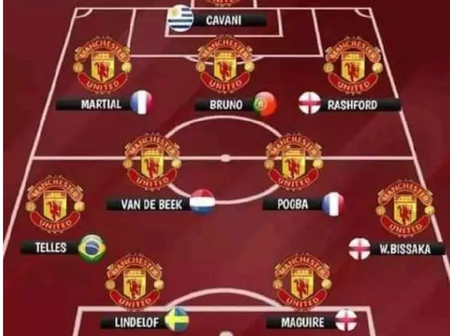 Opinion: Man Utd Lineup That Could End Newcastle United 4 Games Unbeaten Streak In All Competition