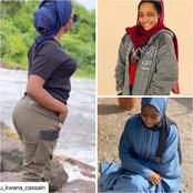 Biography And Photos Of Kannywood Actress, Safara'u Kwana Casa'in