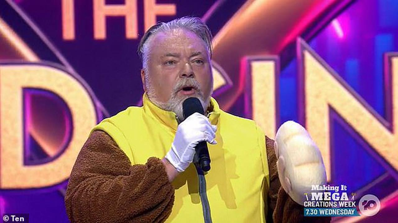 Kyle Sandilands hits back at claims it WASN'T him performing during his surprise cameo on The Masked Singer after radio host Brendan Fevola said 'it was someone else in the suit'