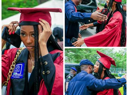 Deputy Governor Shares Photos With Beautiful Daughter As She Celebrates Her Matriculation