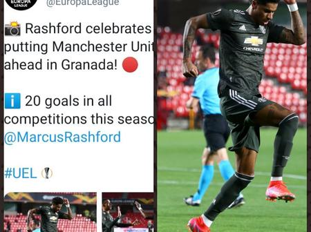 UEFA Celebrates Man Utd Star Player as he sets 2 New Records with his brilliant goal Against Granada