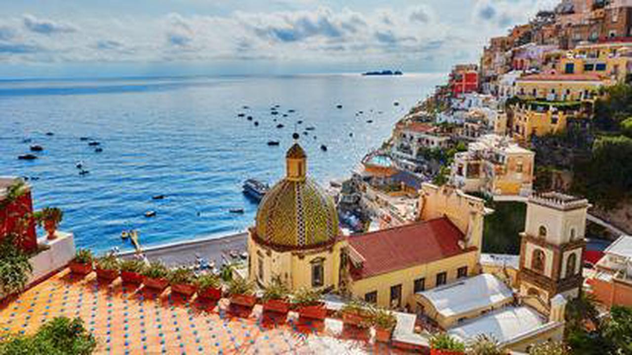 Sentier des dieux sur la côte amalfitaine