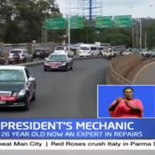 What The Lady Working As President's Mechanic Had To Say About Her Job