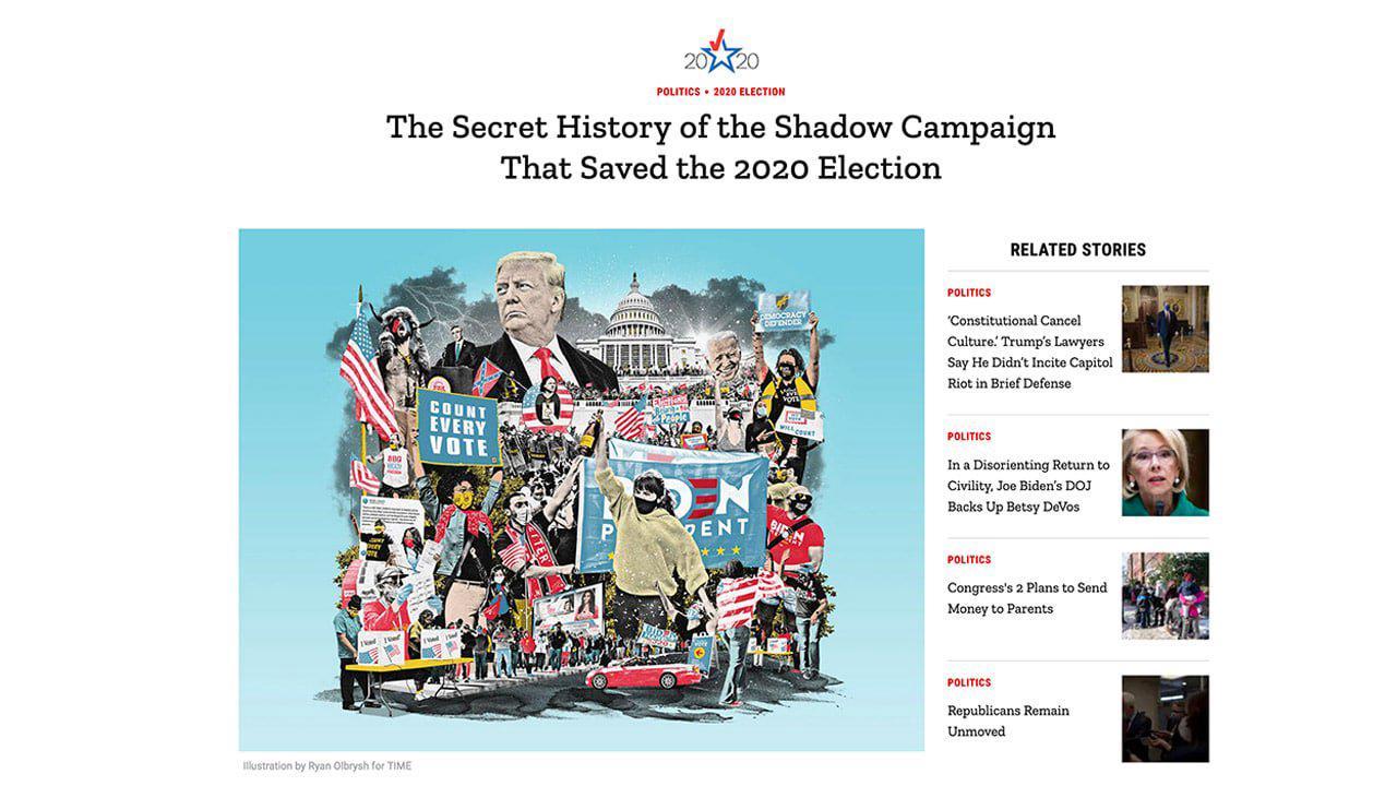 Alliance de la Big Tech, du Big Business et de BlackLivesMatter pour l'élection de Biden, le Time lève levoile