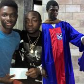 Boy who dropped out of school in England due to lack of funds appreciated Davido for helping him