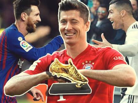 Lewandowski Injured ; A Chance for Messi, Ronaldo to Claim European Golden Boot.