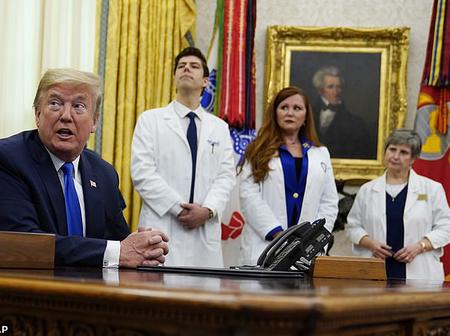 Trump Stares at Self-Quarantining as his Personal Assistant Tested Positive for COVID-19