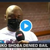 [BREAKING NEWS] Shoba, the alleged mastermind in the Tshegofatso Pule murder case denied bail.
