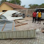 Properties Worth Millions, Homes Destroyed As Windstorm Hit Two Towns In Taraba