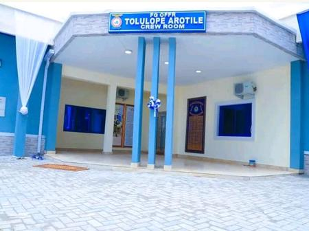 See Photos Of The Crew Room NAF Named After Tolulope Arotile.