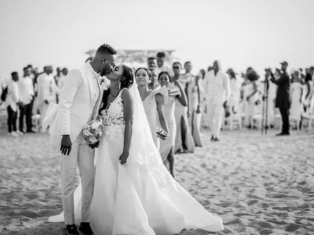Throwback Pictures Of Adekunle Gold And Simisola's Wedding Event