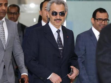 Meet Prince Al Waleed Who Owns the World's Most Expensive Jet And Several Yachts and Cars As Well
