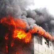 Fire Breaks Out In Aso Rock