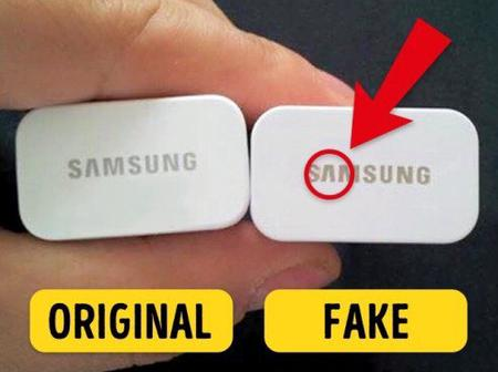 Stop Wasting Your Money Buying Fake Phone Charger, See How To Identify The Original Charger.(photos)