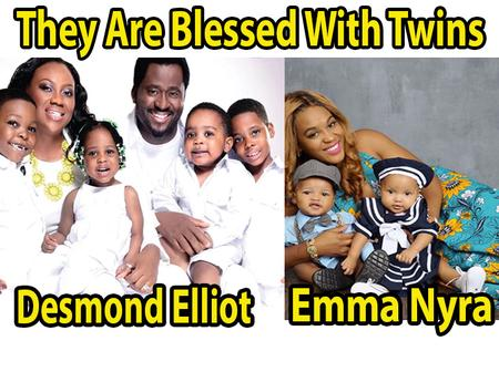 10 Popular Nigerian Celebrities Blessed With Twins (Photos)