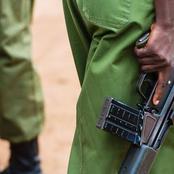 Drama as Police Kills a Dangerous Criminal