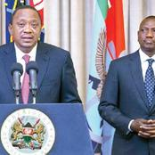 Is This Uhuru's Last Master Stroke Against Ruto After Elbowing Him From Jubilee?