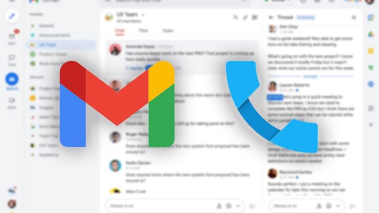 Vos collègues pourront bientôt vous appeler également sur Gmail