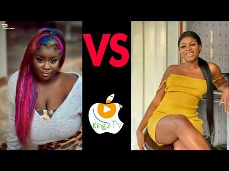 Photos : Who Looks More Beautiful Between Maame Serwaa And Yaa Jackson.