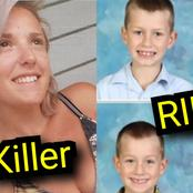 After Her Husband Left The House, See How This Mother Killed Her 5 Children (Photos)
