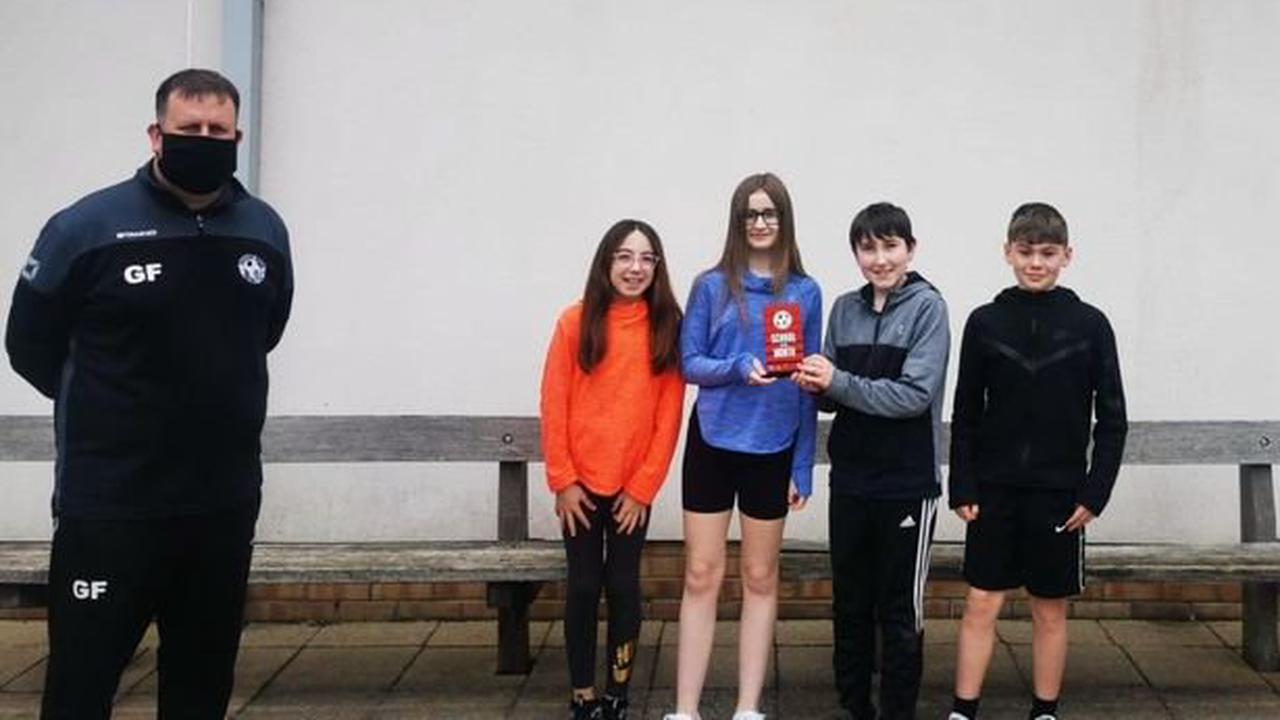 Pupils' sporting success kicks off club's new monthly award