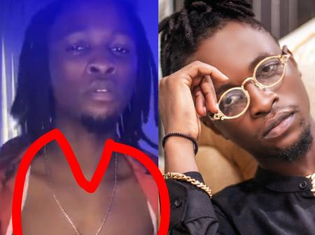 Elites Drag Laycon As He Shares Video Of Himself Baring His Chest On Instagram