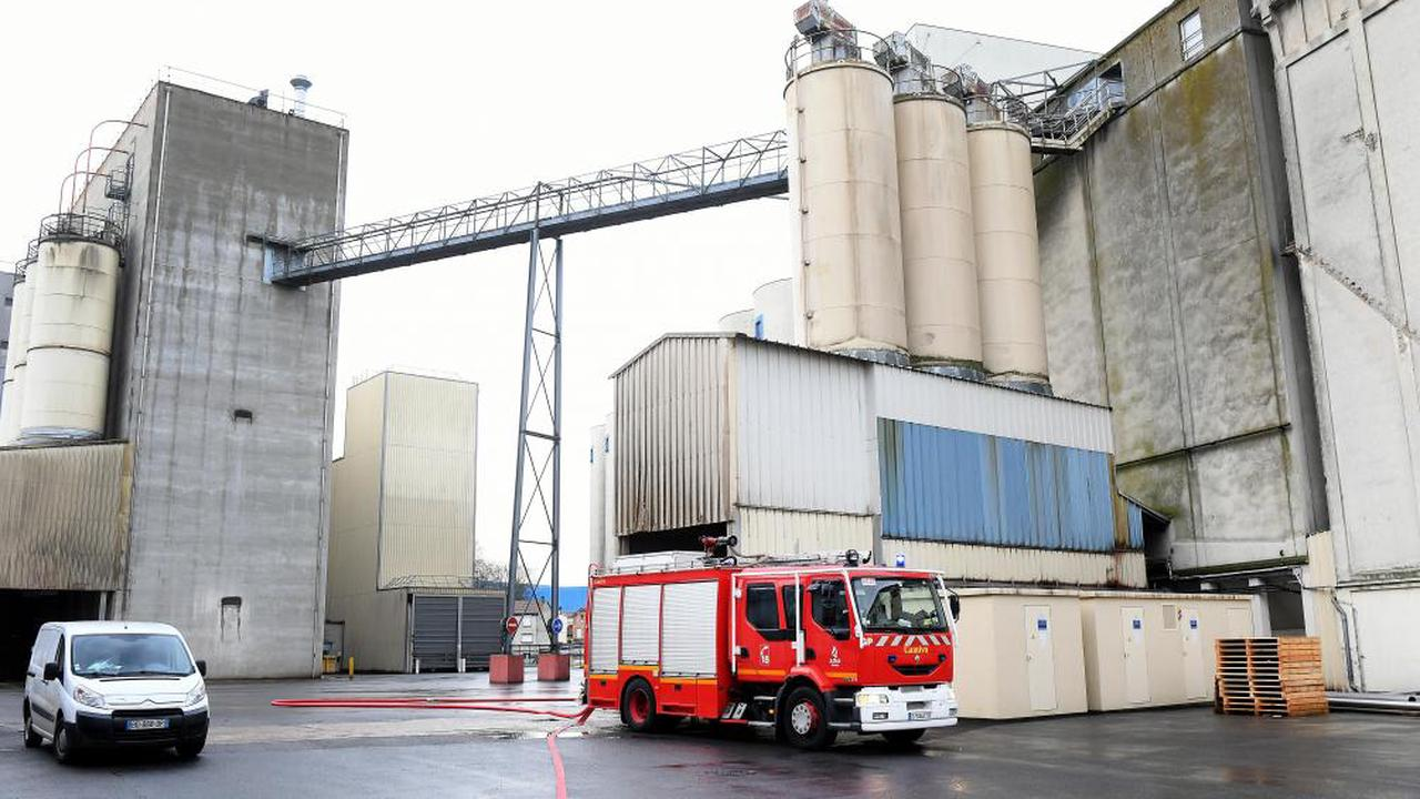 Nouvelle intervention des pompiers près des silos Euromill, à Reims