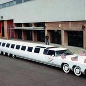 La plus longue voiture du monde mesure 30,5 mètres. Voici la limousine baptisée