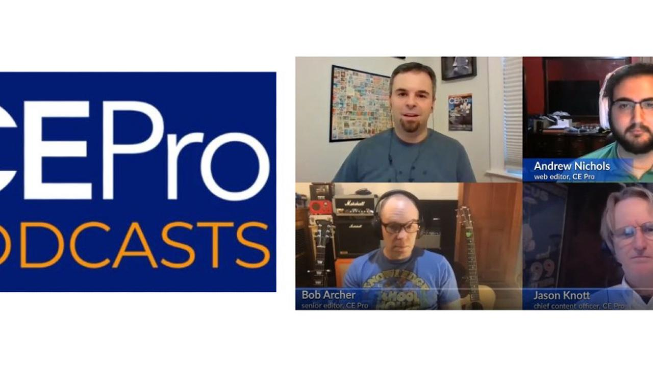 CE Pro Podcast Holiday Edition: Editors' Picks from 2020