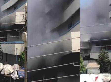 Another Fire Outbreak At Kantamanto Market, GCB Branch Reported Burnt