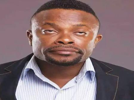 Lovely Photos of Nollywood Comic Actor Okon, His Wife and Two Beautiful Daughters