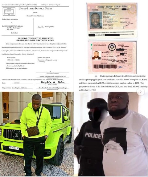 af9c6fa4bb2066706fcfdfbd17fd3c0a?quality=uhq&resize=720 - Hushpuppi's Court docket Cost Sheet: Ex-billionaire Lastly Appeared In a USA Court docket (See Pictures)
