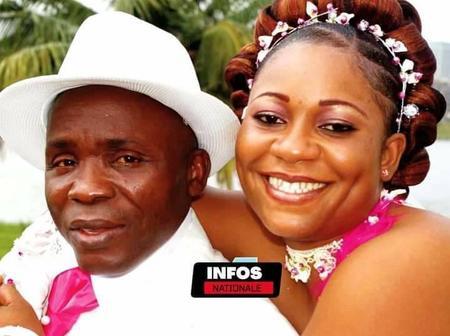 Gohou Michel et son épouse, la photo du magnifique couple fait le buzz ce jour