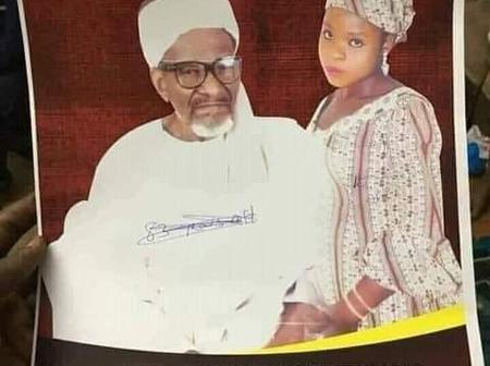 83years old Nigerian Muslim man set to marry 16years old girl. See photo