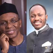 Remembering the 2 Prophecies Apostle Suleman Gave About Governor El-Rufai That Did Not Come To Pass