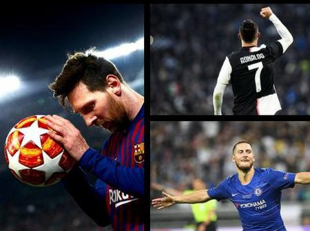 After last night's Man of the Match award, Only Messi and CR7 have won more MOTM than Eden Hazard