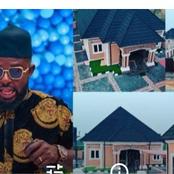 Nigerian comedian, Mc Casino builds a house 6 years after being mocked by a house agent.