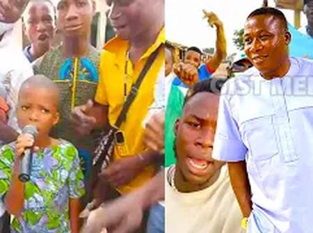 Kid Campaign For Oduduwa Nation In Osun State As He Recites Oduduwa Nation Anthem (Video)