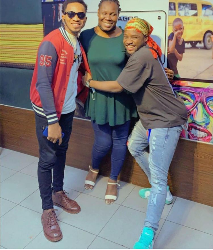Nigerian Idol: Check out lovely pictures from Emmanuel Elijah and Faith Onyeje media rounds in Lagos 14