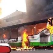 Yopougon/Terminus 40: des individus non identifiés incendient un bus