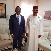 Affi N'guessan reçu en audience aujourd'hui par le président nouvellement élu du Niger