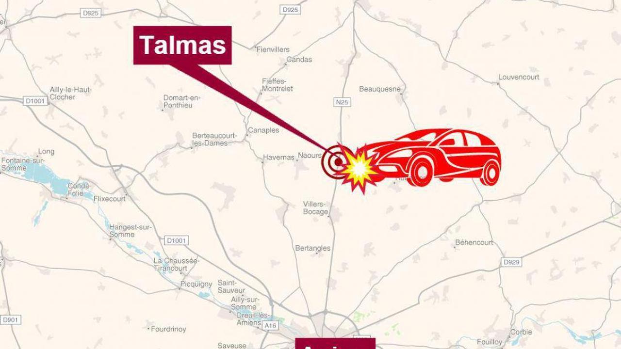 Un jeune homme d'une vingtaine d'années tué dans une sortie de route à Talmas
