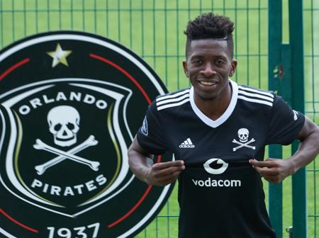 Here's a quick look into Orlando Pirates' new boy J. M Makusu (videos)