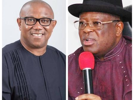 Peter Obi speaks on Umahi's defection amid claims PDP is not interested in Igbo presidency in 2023