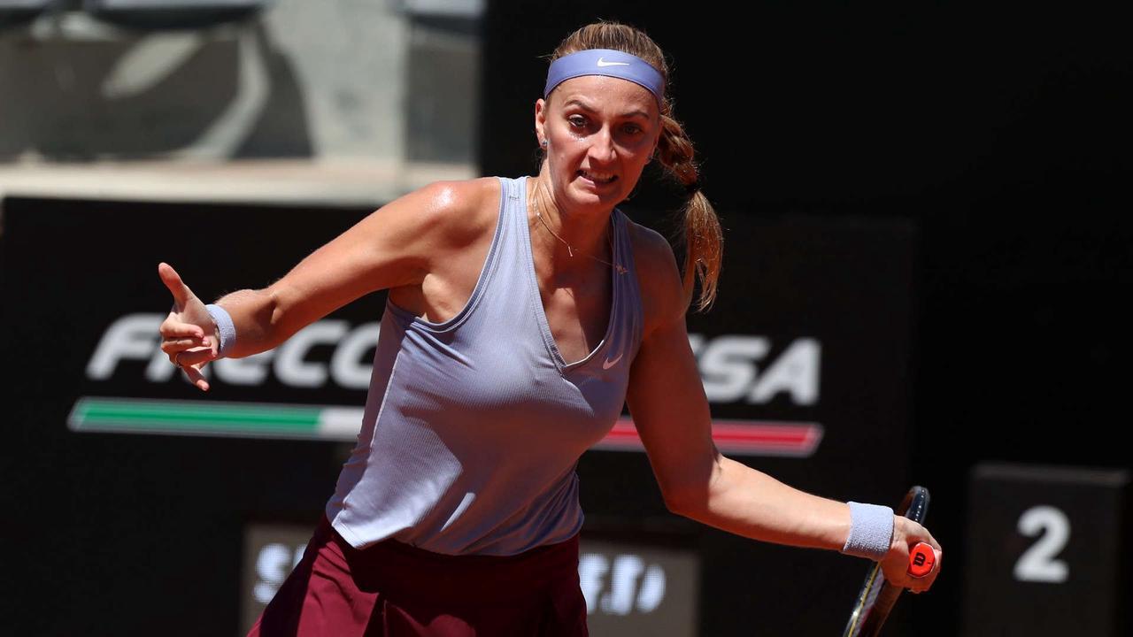 Kvitova battles through in Bad Homburg, no play in Eastbourne