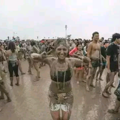 See the Festival Where People Rub The Mud.