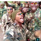 Reactions As Nigerian Young Soldiers Sing A Heartfelt Song Against Boko Haram Killings