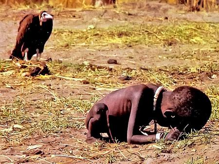 Pictures from Africa that show some of the tough conditions children live through